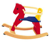 Rocking Horse Toy Royalty Free Stock Photos