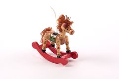 Rocking Horse Tree Ornament stock image