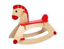 Rocking horse Royalty Free Stock Image