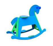 Rocking Horse on white background Royalty Free Stock Photography