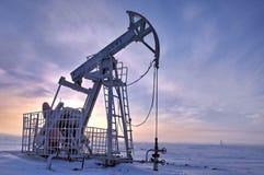 Rocking oil Stock Photo