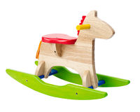 Rocking toy horse chair Royalty Free Stock Photos