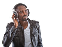 Rocking this tune Royalty Free Stock Photos