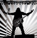 Rockkonsert Royaltyfri Bild