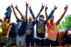 Rockkonzert Lizenzfreies Stockbild
