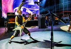 Rockkonzert Stockfotos