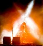 Rockkonzert Lizenzfreies Stockfoto