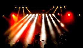 Rockkonzert Stockfoto