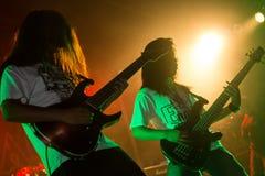 Rockkonzert, musikalische Nacht lizenzfreie stockbilder