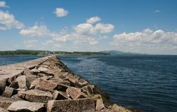 Rockland Breakwater Royalty Free Stock Image