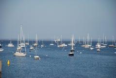 Rockland Hafen Maine Stockbilder