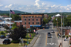 Rockland Historic downtown, Rockland, Maine Royalty Free Stock Photography