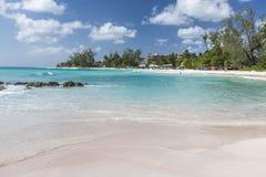 Rockley海滩巴巴多斯印度西部 免版税库存图片