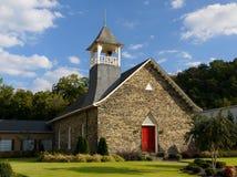 Rockmart presbyterianska kyrkan--Rockmart GUMMIN Royaltyfria Bilder