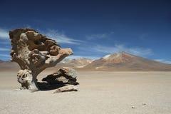 RockMountain. Rock Mountain Bolivia Desert Surreal Royalty Free Stock Photography