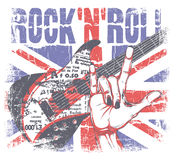 Rockn rolka Zdjęcia Royalty Free