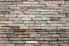 rockowa ściana z cegieł tekstura Zdjęcie Stock