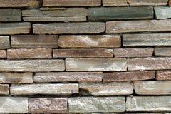 rockowa ściana z cegieł tekstura Obrazy Stock
