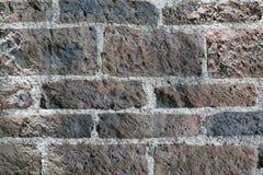 rockowa ściana z cegieł tekstura Zdjęcia Stock