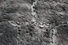 Rockowa ścienna tekstura Zdjęcie Stock
