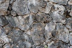 Rockowa ścienna tekstura Obraz Stock