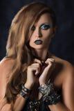 Rockowa dziewczyna Obraz Stock