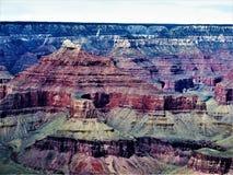 Rockowa formacja Grand Canyon zdjęcie stock