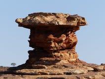 Rockowa formacja w królewiątko jarze, Australia zdjęcie stock