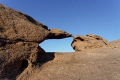 Rockowa formacja w Namib pustyni w zmierzchu, krajobraz Fotografia Royalty Free