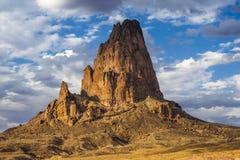 Rockowa formacja w pustyni w Amerykańskim Południowym zachodzie fotografia royalty free
