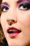 rockowa glam kobieta Obrazy Stock