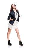 Rockowa kobieta Fotografia Stock