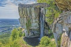 Rockowa miasto punktu obserwacyjnego góra W Gruzja Obraz Royalty Free