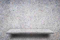 Rockowa otoczak tekstury półka dla produktu szelfowego pokazu Zdjęcia Royalty Free