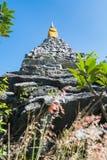 Rockowa pagoda zdjęcie stock