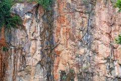Rockowa powierzchnia Zdjęcia Stock