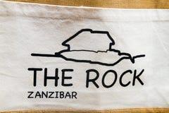Rockowa restauracja w Zanzibar, Fotografia Stock