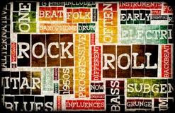 rockowa rolka royalty ilustracja