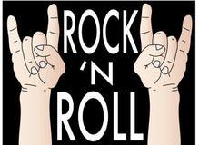 rockowa rolka Zdjęcia Stock