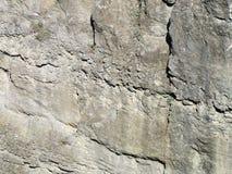 Rockowa struktura w jarze Obrazy Royalty Free