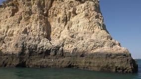 Rockowa struktura w oceanie zbiory wideo