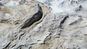 Rockowa tekstura Fotografia Stock
