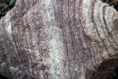 Rockowa tekstura z wieloskładnikowymi pęknięciami Obrazy Royalty Free