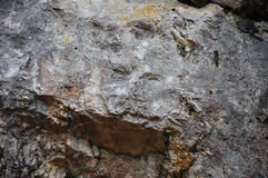 Rockowa twarz Obraz Stock