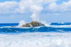 Rockowa wyspa Zdjęcie Royalty Free