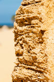 Rockowe formacje od pinakli w zachodniej australii Zdjęcia Stock