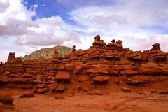 Rockowe formacje w dziwożony dolinie Obrazy Stock