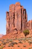 Rockowe formacje w Pomnikowej dolinie Fotografia Royalty Free