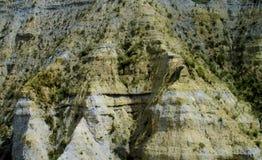 Rockowe formacje zbliżają los angeles Paz w Boliwia Obraz Stock