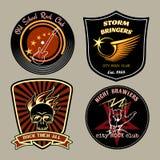 Rockowe odznaki Fotografia Stock
